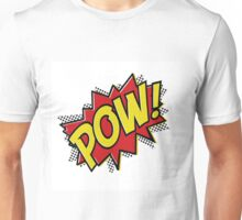 POW! Inspiration from Superhero Comics. Unisex T-Shirt