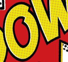 POW! Inspiration from Superhero Comics. Sticker