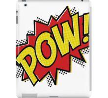 POW! Inspiration from Superhero Comics. iPad Case/Skin