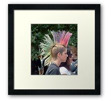 Headshot 2 Framed Print