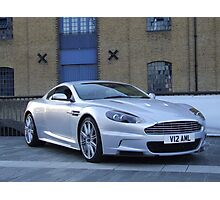 Aston Martin DBS Photographic Print