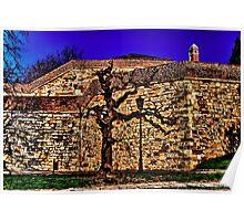 Medieval Fortress Kalemegdan Belgrade Fine Art Print Poster