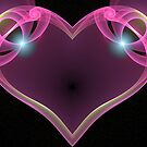 Pink Heart by obeyyourmaster