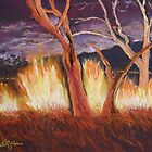 Nightfire at Kakadu by Estelle O'Brien