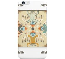 American Native Pattern No. 22 iPhone Case/Skin