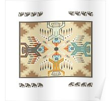 American Native Pattern No. 22 Poster