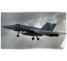 Hornet F18-a Poster