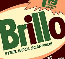 Brillo Box Package Colored 4 - Andy Warhol Inspired by peterpotamus