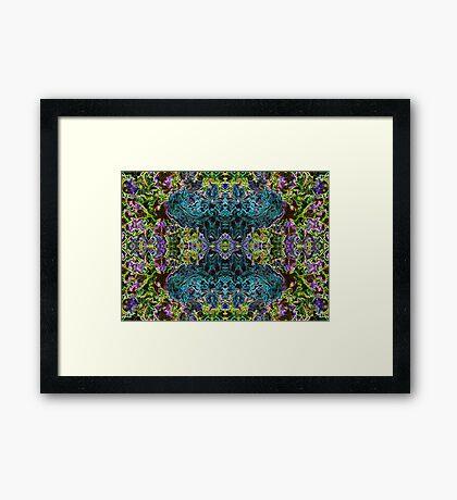 Blue Djinn Framed Print