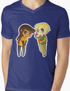 Superhero BFFs Mens V-Neck T-Shirt