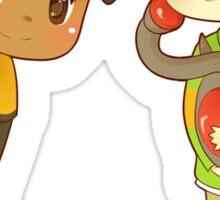 Superhero BFFs Sticker