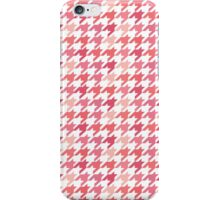 Chanel Fashion Print -   Pink Houndstooth Pattern iPhone Case/Skin