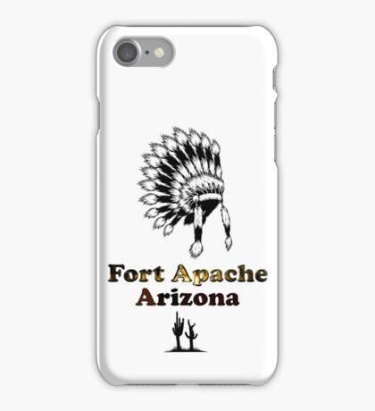 Fort Apache Arizona Tee-shirt and stickers iPhone Case/Skin
