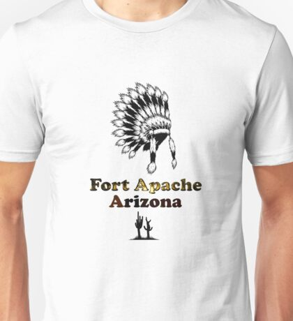 Fort Apache Arizona Tee-shirt and stickers Unisex T-Shirt