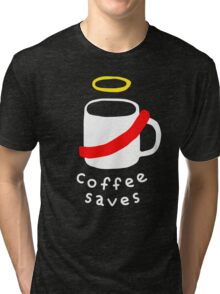 Coffee Jesus Tri-blend T-Shirt