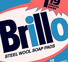 Brillo Box Package Colored 10 - Andy Warhol Inspired by peterpotamus