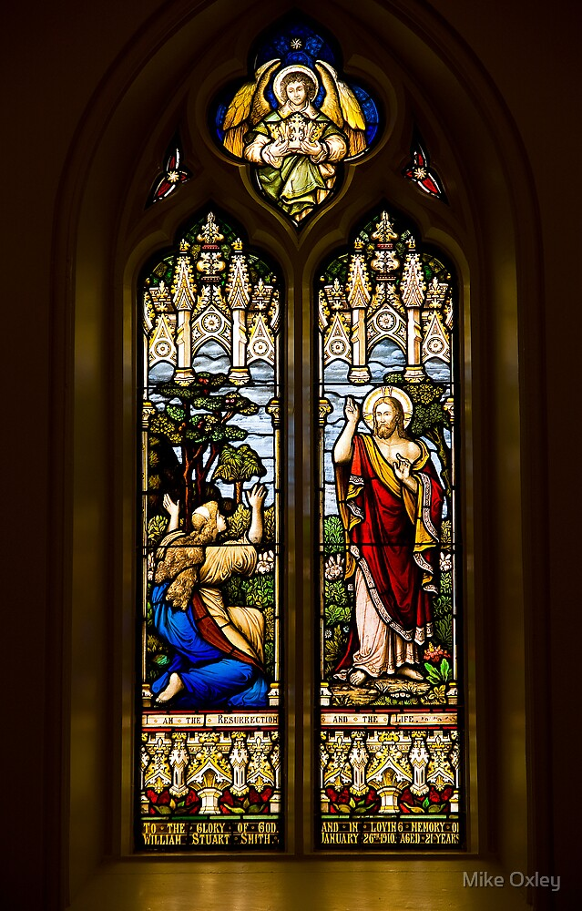 The Resurrection Window, Trinity Anglican Church, Cornwall, Ontario by Mike Oxley