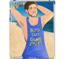 UberHaxorNova- Summer Ready iPad Case/Skin