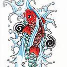 Koi Fish by eveelinaa