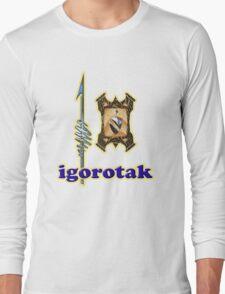 Igorotak tee-shirt and stickers Long Sleeve T-Shirt