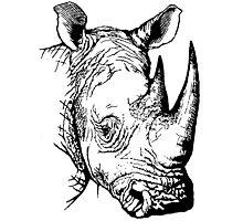 Big Five - Rhino Photographic Print
