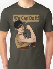 SHE can do it! Unisex T-Shirt