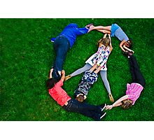 Peace Love And Happieness  Photographic Print