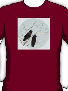 A Crow Couple  T-Shirt