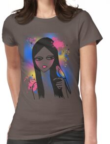 Budgie Girl Womens Fitted T-Shirt