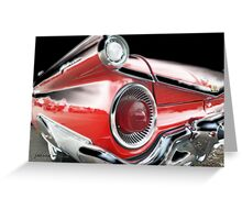 Classic Car 82 Greeting Card