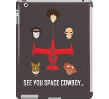 See You Space Cowboy iPad Case/Skin