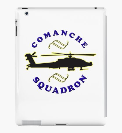 Comanche tee-shirt and stickers iPad Case/Skin