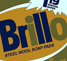 Brillo Box Package Colored 11 - Andy Warhol Inspired by peterpotamus
