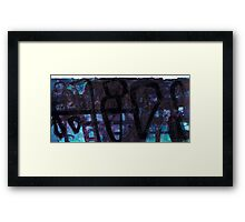 Rock Formations #2 Framed Print
