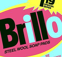 Brillo Box Package Colored 12 - Andy Warhol Inspired by peterpotamus