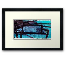 Rock Formations #3 Framed Print