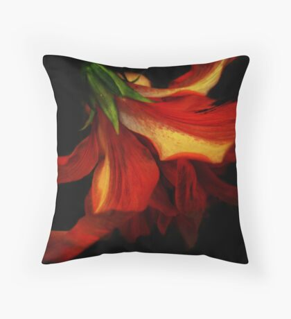 Ethereal Flower Throw Pillow