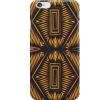 African Tribal Pattern No. 9 iPhone Case/Skin