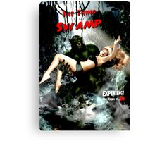 Thing in the Swamp Canvas Print