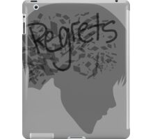 Regrets iPad Case/Skin