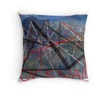 'Rock Wall' Throw Pillow