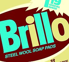 Brillo Box Package Colored 18 - Andy Warhol Inspired by peterpotamus