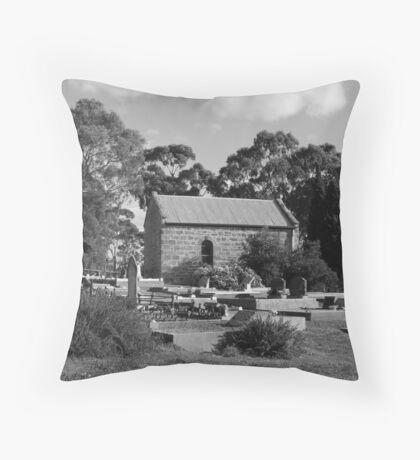 """Woodside Chapel, Woodside, SA"" Throw Pillow"