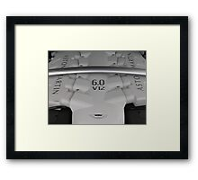 Motorsport Icon Framed Print