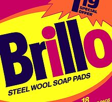 Brillo Box Package Colored 23 - Andy Warhol Inspired by peterpotamus