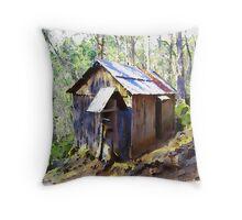 Hikers' Hut Throw Pillow