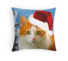 Bitty In The Snow Throw Pillow
