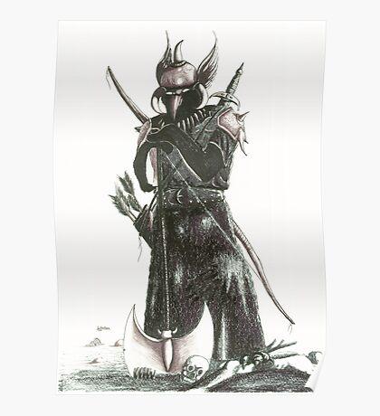 warrior pen Poster