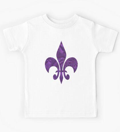 Renaissance Purple Kids Tee