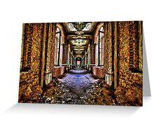 Abandoned House Interior Fine Art Print Greeting Card